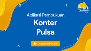 Aplikasi Pembukuan Konter Pulsa