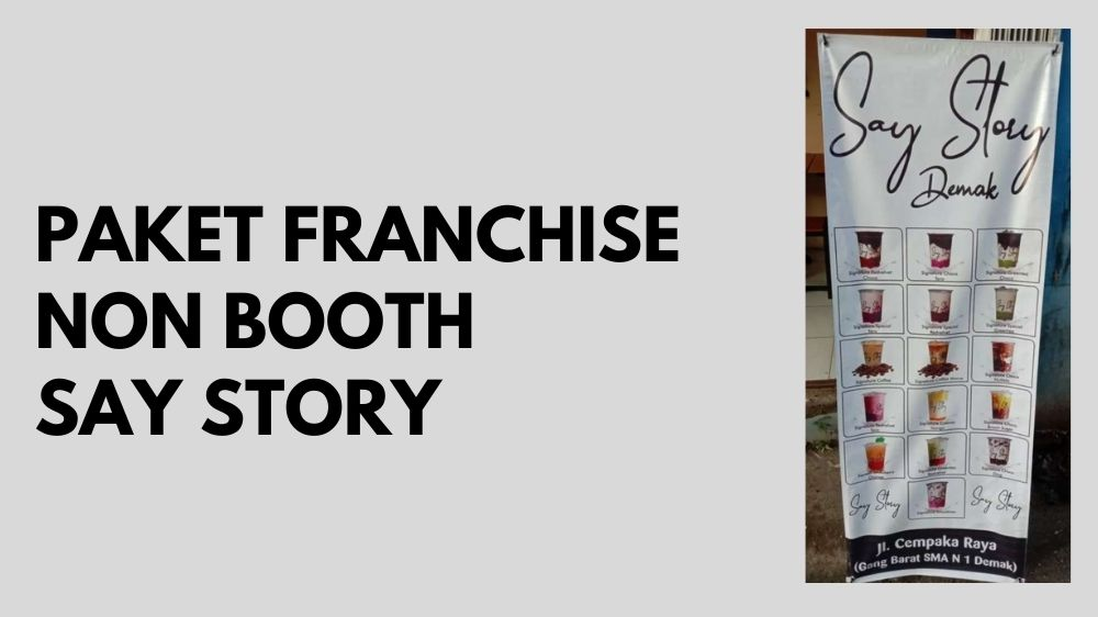 Paket Franchise non Booth