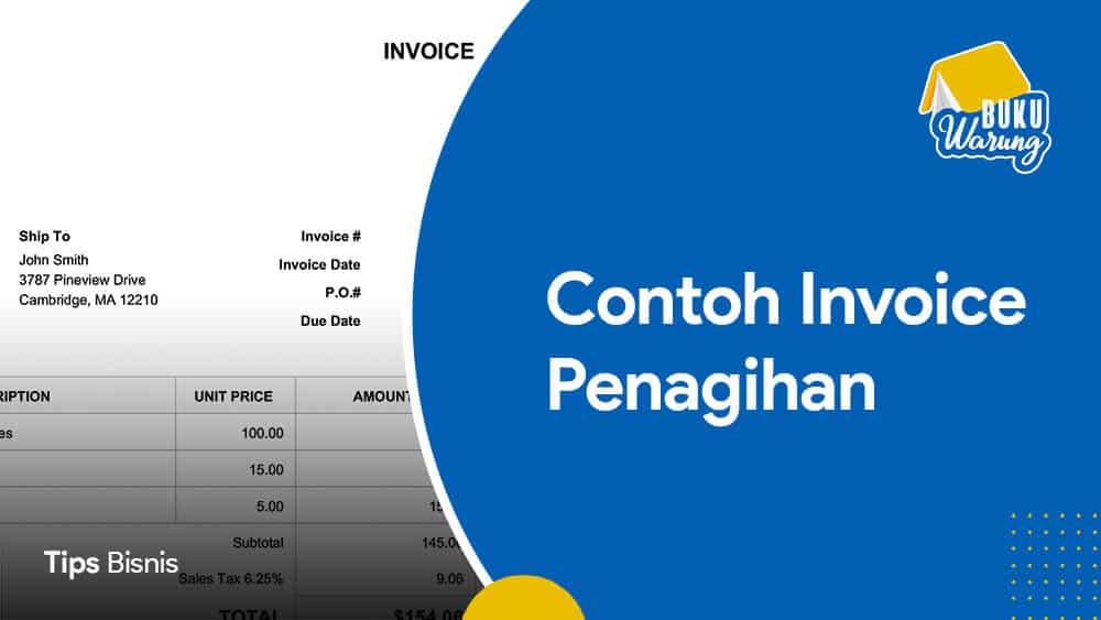 Contoh Invoice Penagihan
