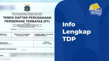 Info TDP Adalah (Tanda Daftar Perusahaan)