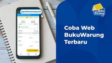 Coba Web Pembukuan Keuangan BukuWarung Terbaru